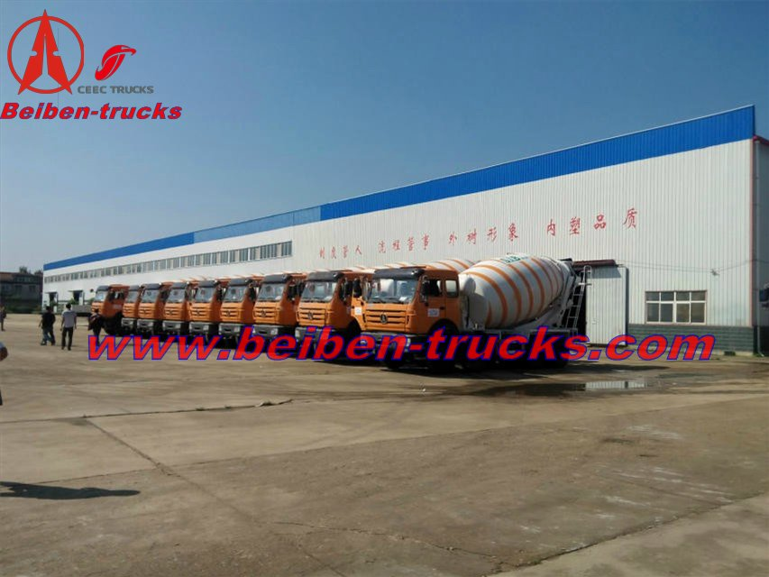 beiben mixer trucks in algeria