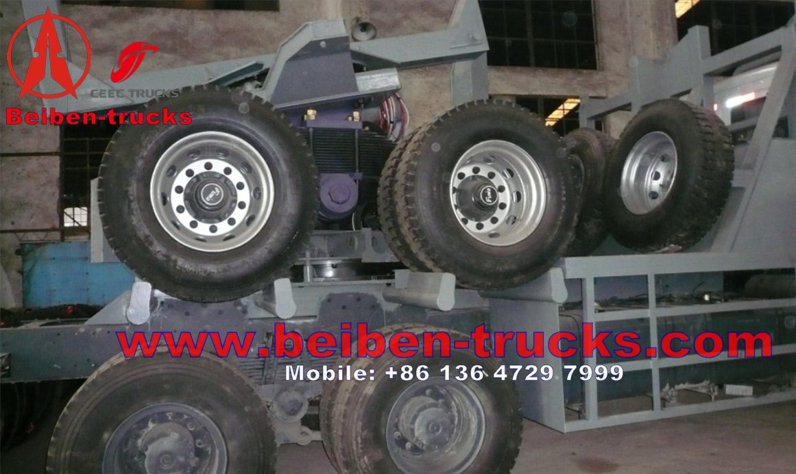 Beiben 6 wheel drive timber truck
