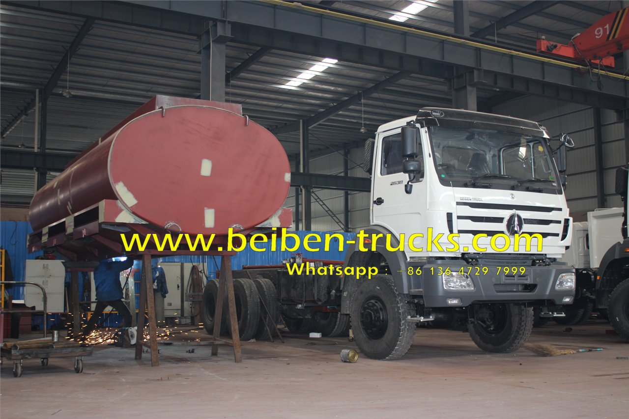 beiben water trucks manufacturer