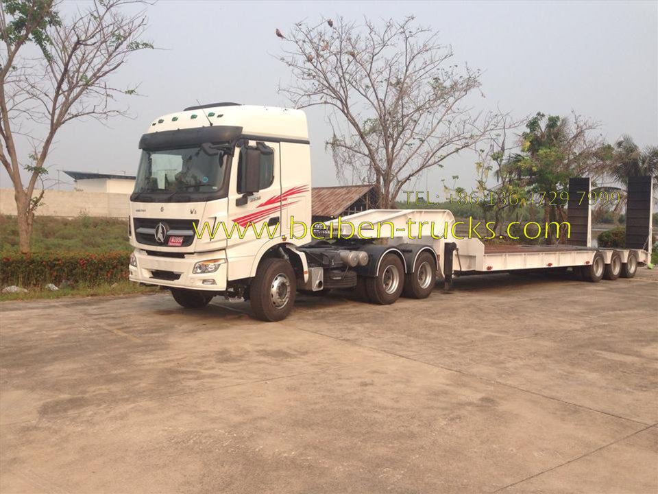 beiben 2543 towing truck