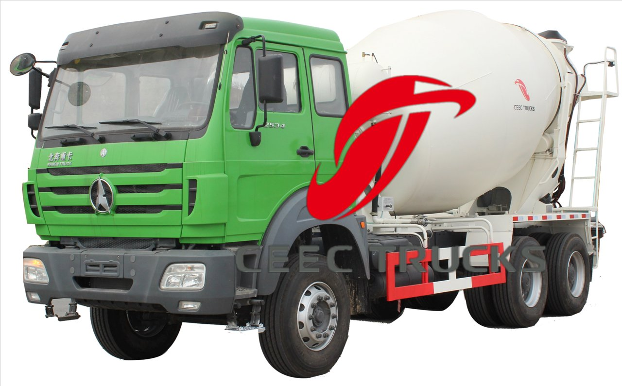beiben 2534 mixer truck supplier