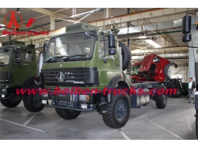 beiben 4*4 truck chassis