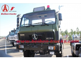baotou North Benz truck head 380hp camion tracteur Beiben