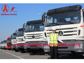 congo Bei ben towing tractor truck 420hp truck head supplier