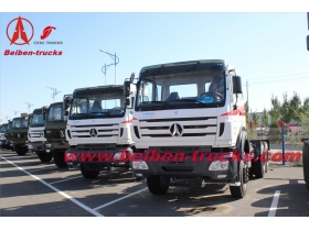 North Benz truck tractor 6*4 towing truck in congo