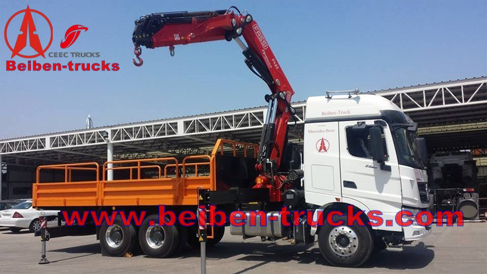 acheter camion grue avec grue de levage de 10 tonnes beiben v3 camion grue avec grue de levage. Black Bedroom Furniture Sets. Home Design Ideas