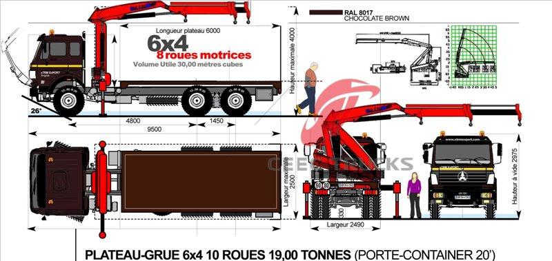 Acheter Camion Grue Avec Grue De Levage De 10 Tonnes Beiben V3