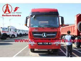 China Trucks 6x4 440hp Tractor Truck for kenya customer