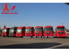 China Tractor Truck 6x4 336hp 10 Wheeler Trucks for kenya customer