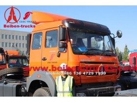 Chine meilleur camion Beiben NG80 6 x 4 tracteur camion Beiben camion prix
