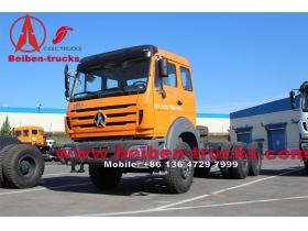 used North Benz Beiben heavy duty tractor head truck,tow tractor,towing vehicle