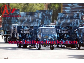 china benz technology Beiben ND1290 military truck for exporting