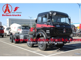 China beiben 3134AP 8 wheel drive truck chassis for congo
