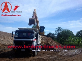 fournisseur de Chine Beiben le camion-benne 6 X 4 Tipper ND32500B48J7 Heavy Duty Truck