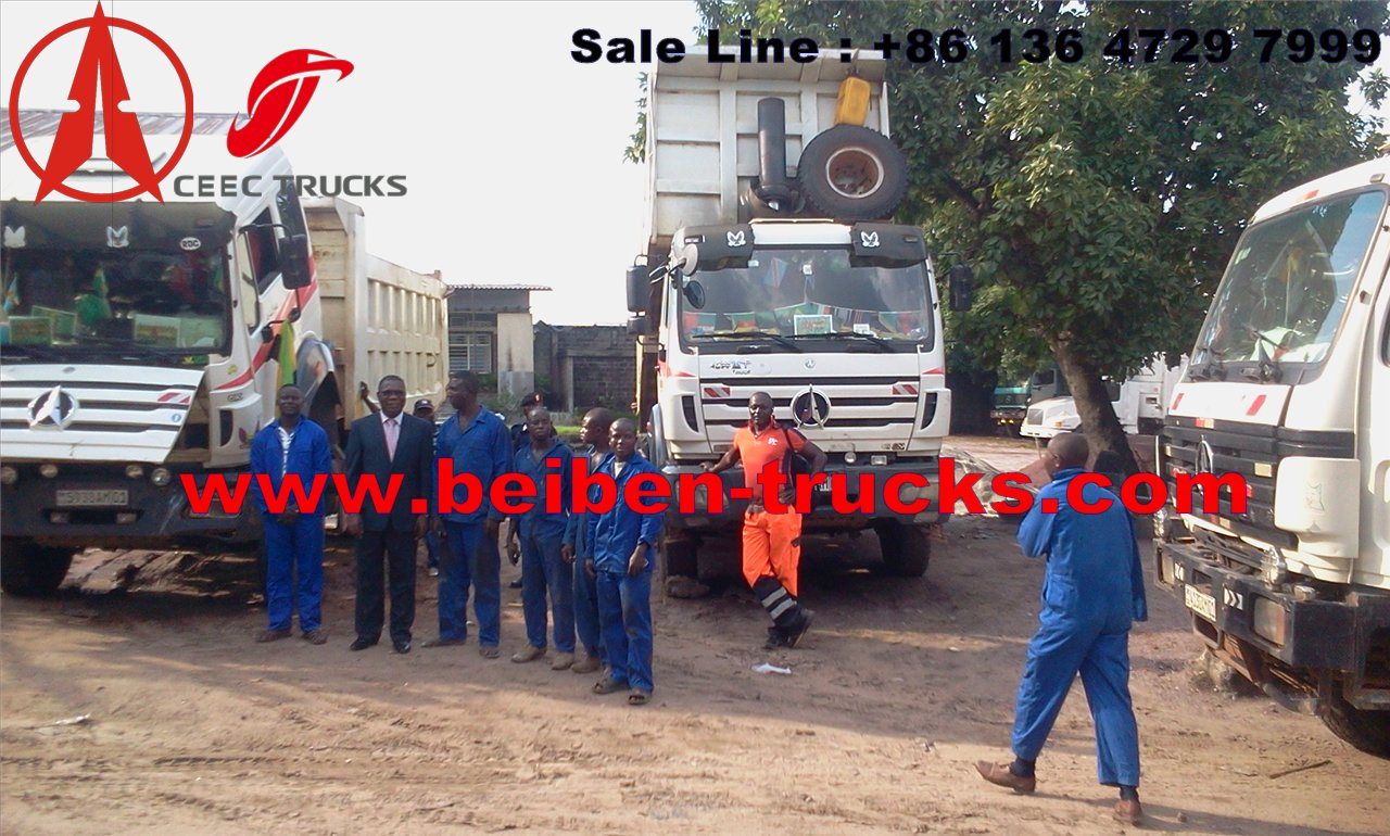 china best manufacturer for beiben north benz dump tipping truck