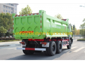 Low price for high quality China 30 ton truck 6X4 beiben dump trucks