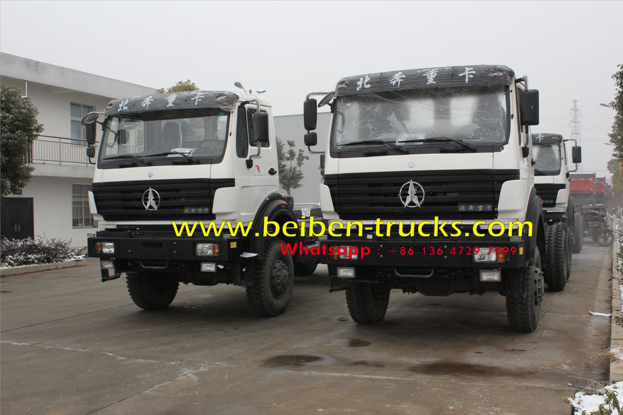 china beiben 2534 off road tractor truck supplier