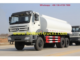 Chine Beiben 6 X 4 6 X 6 hors route eau camions