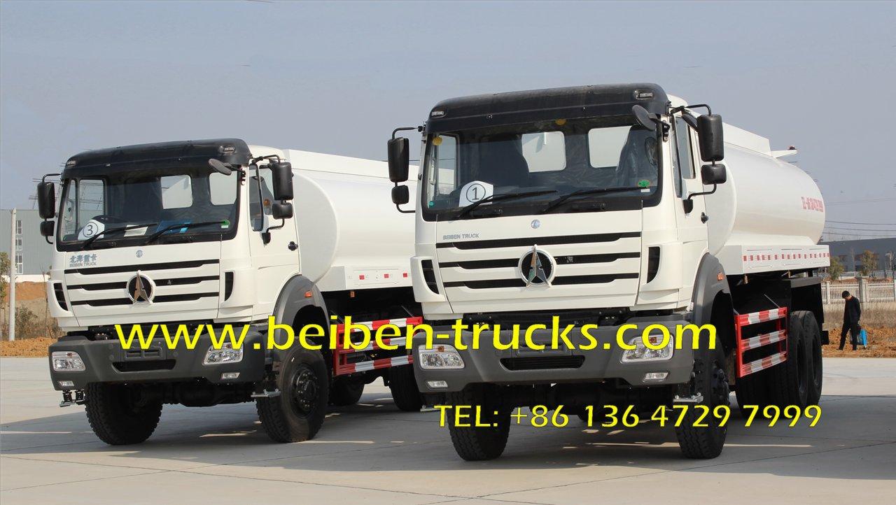 Vente chaude beiben 6 x 4 porteur camion eau vaporisateur for Camion citerne eau remplissage piscine
