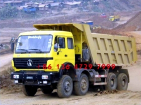 best africa best beiben 12 wheeler dump truck supplier