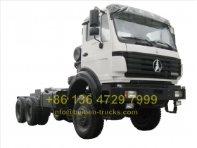 best beiben 6 wheel drive trucks manufacturer