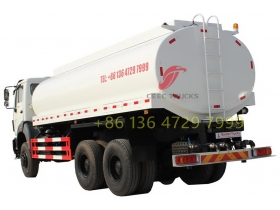 North Benz 6x4 NG80 water sprinkling tank water bowser truck supplier