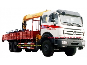 Chine Beiben 5 t fabricant de camions à grue