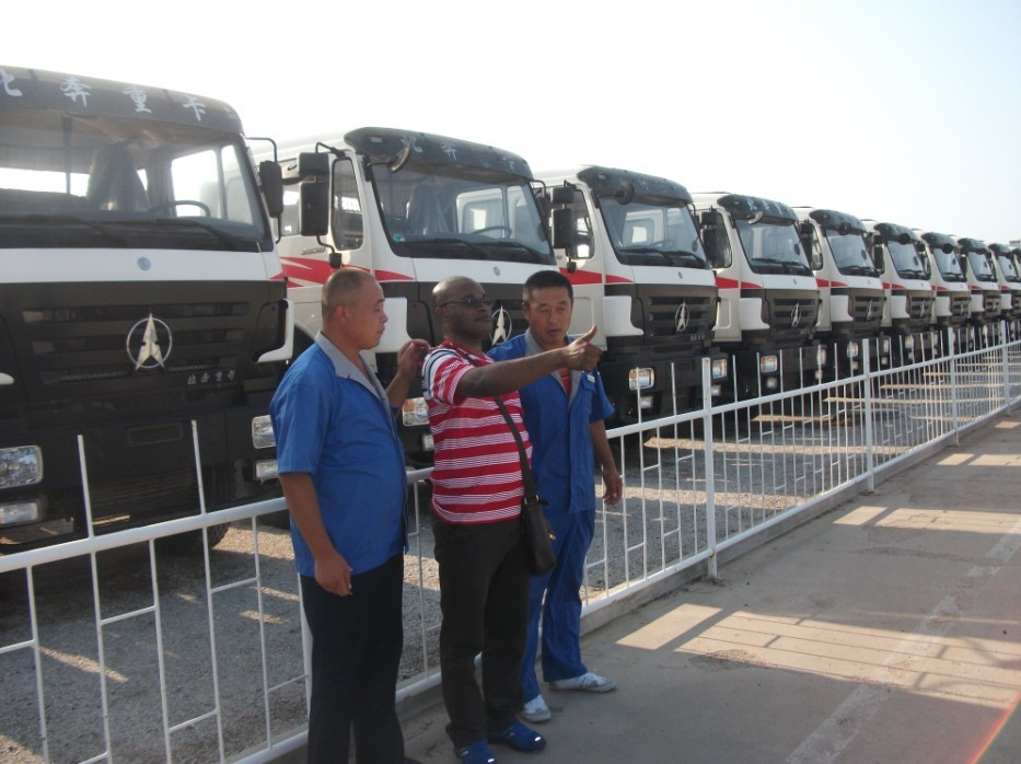 Great congo customer order 50 units beiben 2638 tractor trucks